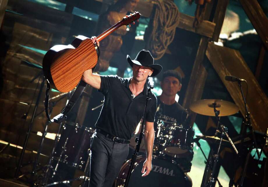 Singer-songwriter Kenny Chesney performs onstage at the 49th annual CMA Awards at the Bridgestone Arena on November 4, 2015 in Nashville, Tennessee. Chesney performs at the Shoreline Amphitheatre on Wednesday, June 20, 2018. Photo: Terry Wyatt, Getty Images / 2015 Terry Wyatt
