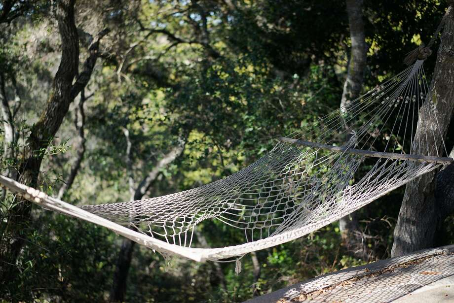 One area features a hammock at the Wellstone Center. Photo: James Tensuan, Special To The Chronicle