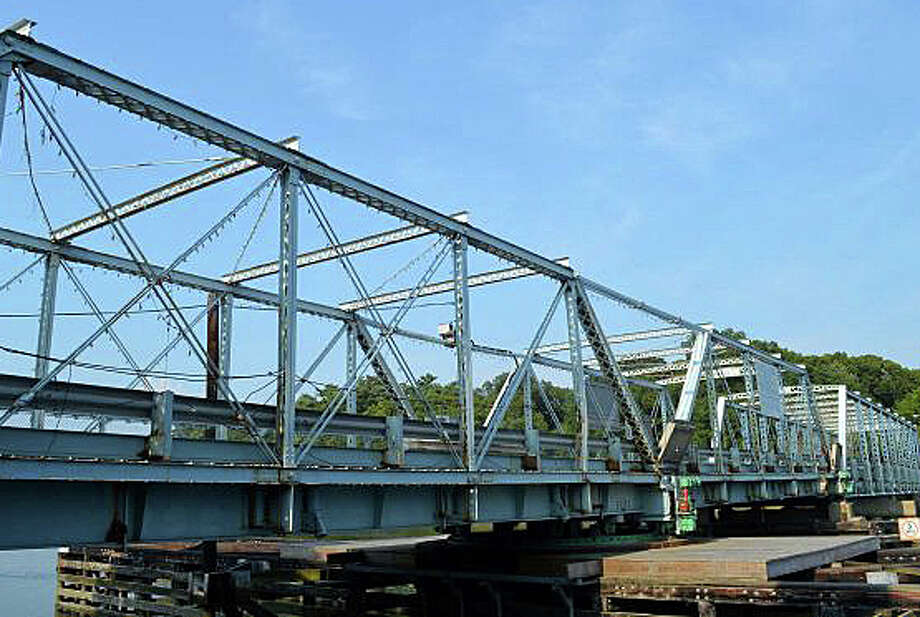 The status -- and future -- of the Bridge Street bridge will be the topic of a Nov. 23 forum with state Department of Transportation officials in Town Hall. Photo: File Photo / File Photo / Westport News
