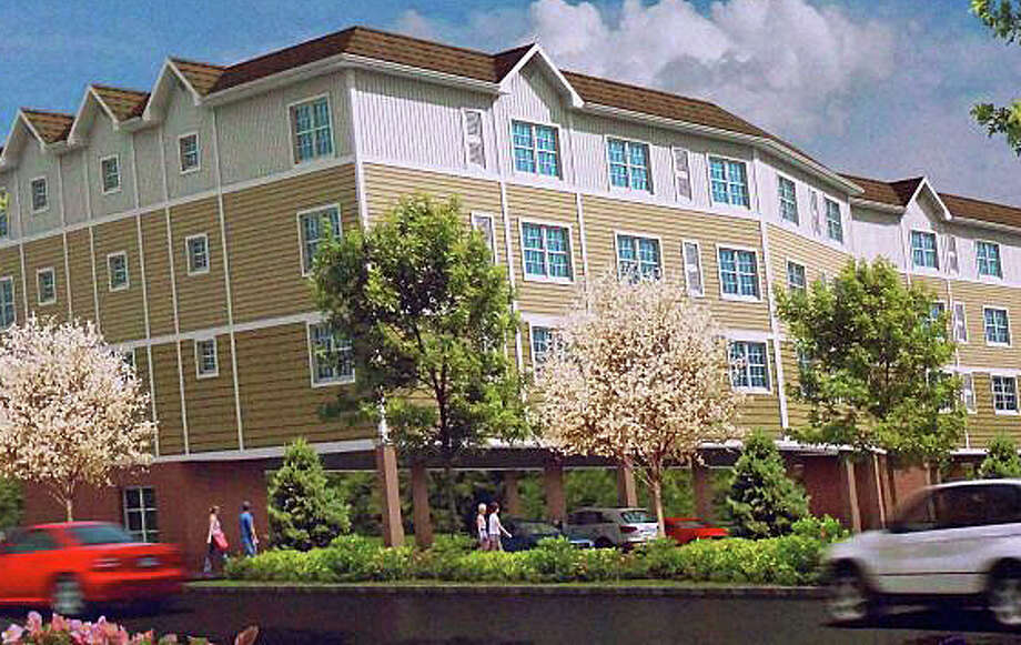 A rendering of the apartment building proposed for Berwick Avenue, which was unanimously denied by the Town Plan and Zoning Commission. That decision was recently upheld by a Superior Court judge. Photo: Contributed / Contributed Photo / Fairfield Citizen