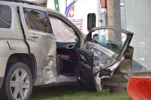 Ambulance causes chain-reaction crash on Northeast Side - Photo