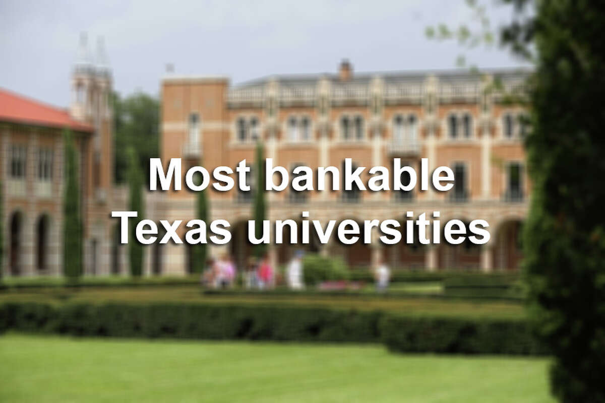 Scroll through the slideshow to see the Texas universities where alumni can expect to make the most money - and least - after graduating.