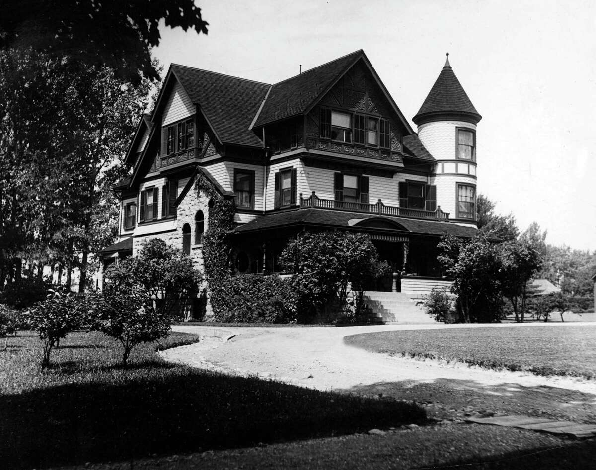 Saratoga Springs house, Annandale Villa,, undated. (Times Union Archive)