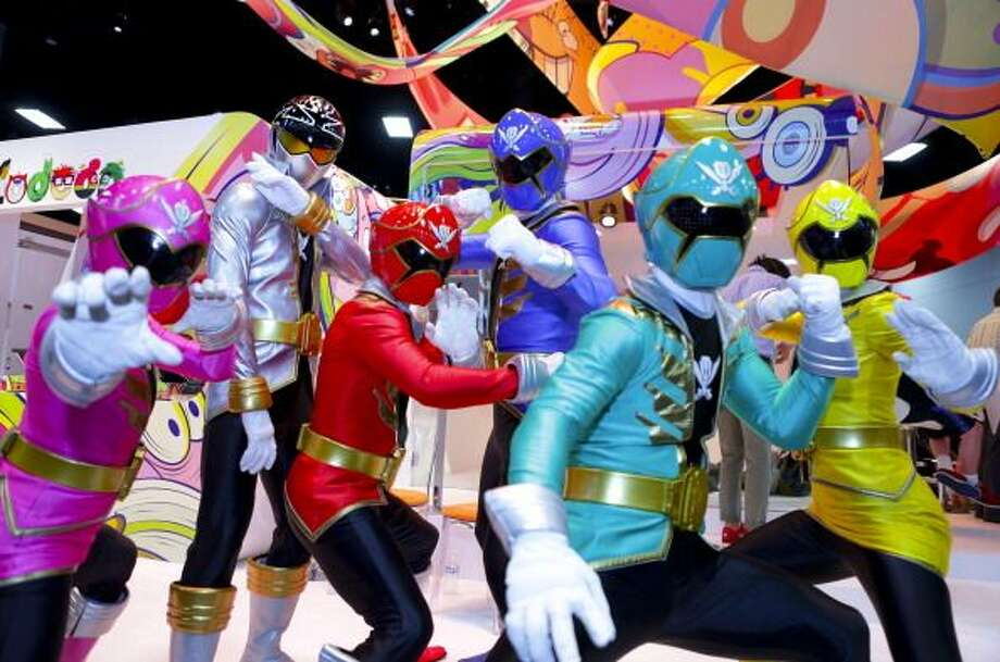 Playing Power Rangers landed a 6-year-old Ohio boy with a three-day suspension. / 2014 Tiffany Rose