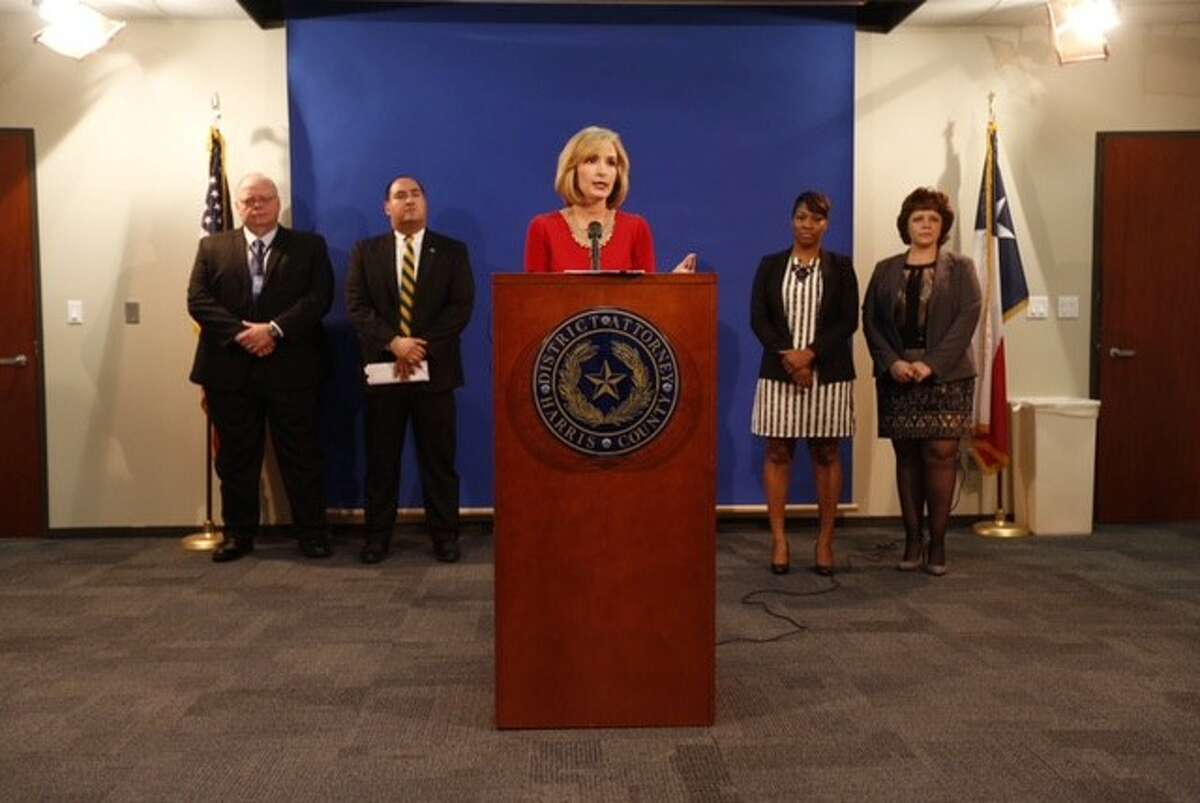 Harris County District Attorney Devon Anderson announces a new program for first-time offenders caught with less than two ounces of marijuana.