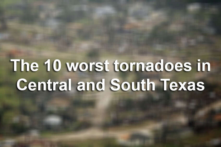 Tornadoes have injured hundreds and caused millions of dollars in damage in Texas. Here are the 10 deadliest and most destructive tornadoes in the past 50 years in this area of the state.Click here to explore an interactive map of tornado activity in Central and South Texas. Photo: File
