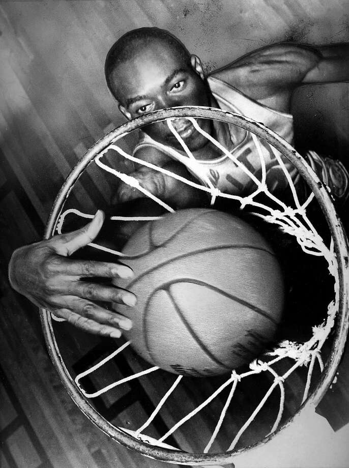 Warriors center Nate Thurmond dunks a basketball Photo shot 03/15/1967 Photo shot 03/16/1967 Photo: Barney Peterson, The Chronicle