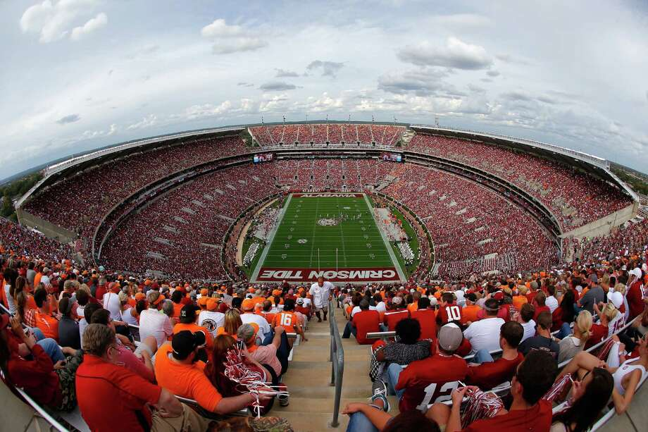 AlabamaBryant-Denny Stadium (University of Alabama)Capacity: 101,821 Photo: Kevin C. Cox, Getty Images / 2015 Getty Images