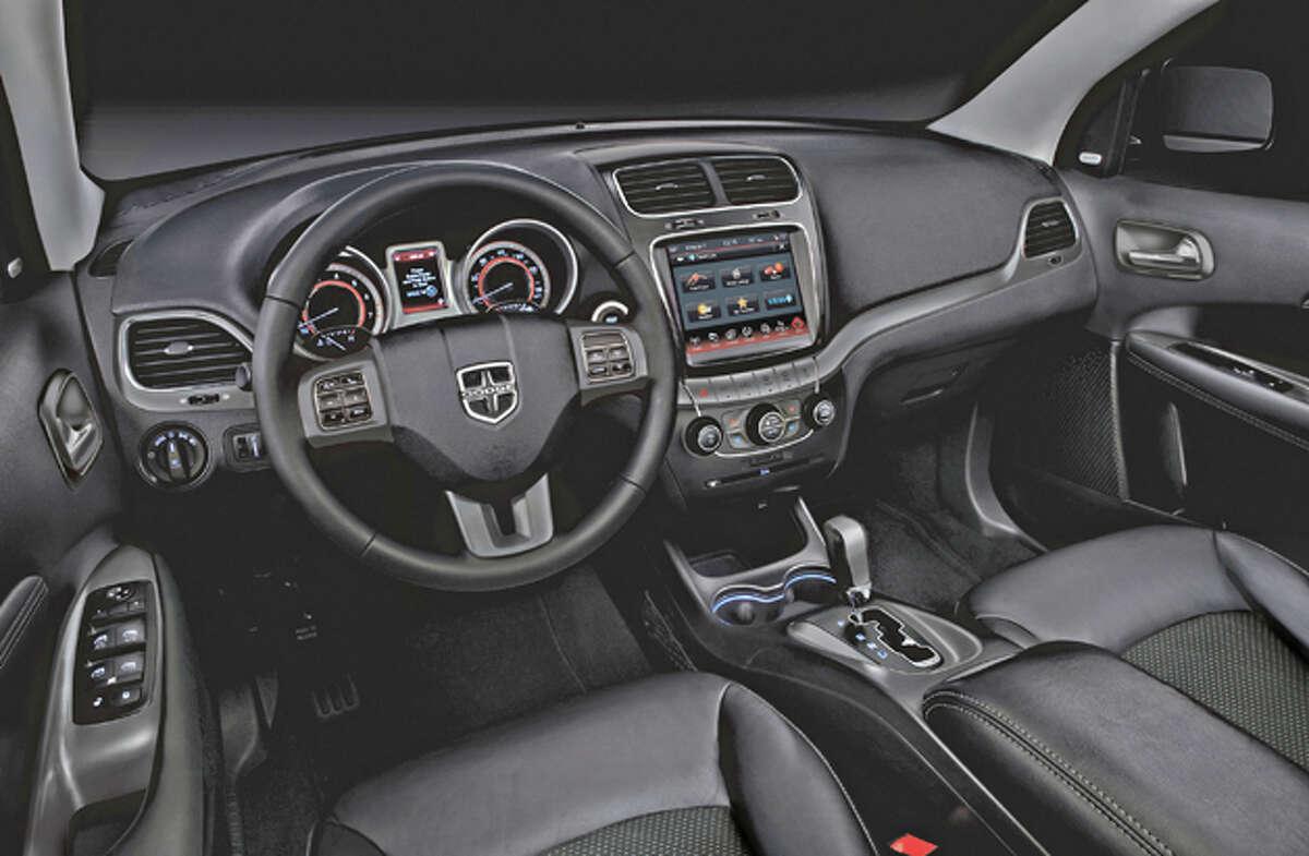 2015 Dodge Journey Crossroad AWD (photo courtesy Chrysler LLC)