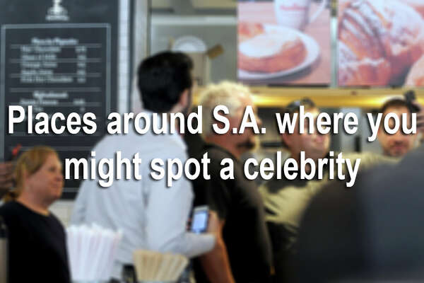 From golf courses to coffee shops, there are plenty of places where an average Joe might meet a celebrity. Here are some spots n San Antonio that are known for attracting A-listers.