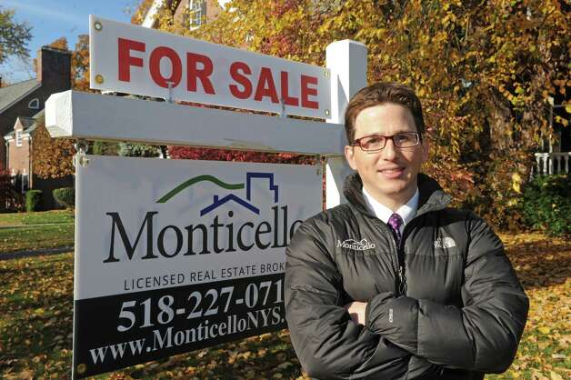 Real estate agent Alec Monticello on Saturday Oct. 31, 2015 in Albany, N.Y. (Michael P. Farrell/Times Union) Photo: Michael P. Farrell / 00033973A