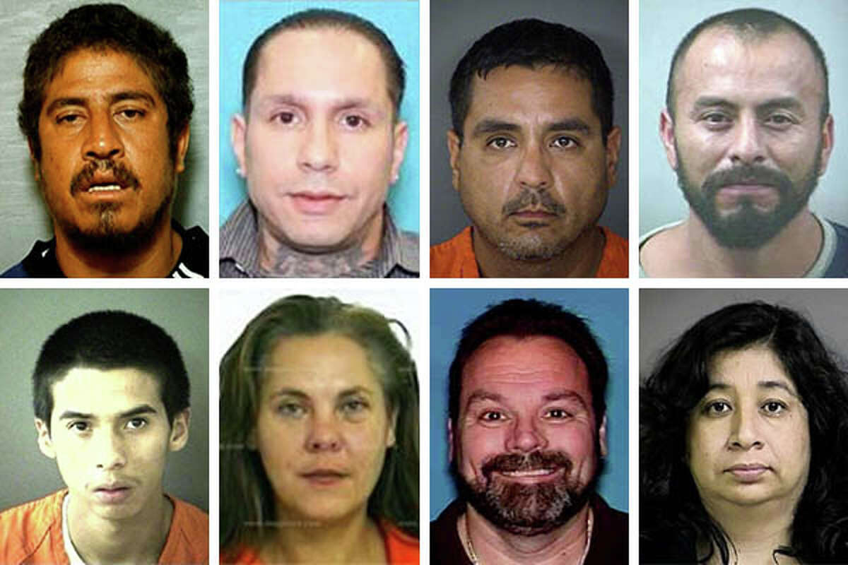 Click through for details on some of the most wanted people in the area by San Antonio Crime Stoppers and the Bexar County Sheriff's Office.