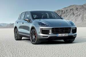 Porsche's refreshed Cayenne Turbo serves up extra-spicy utility - Photo