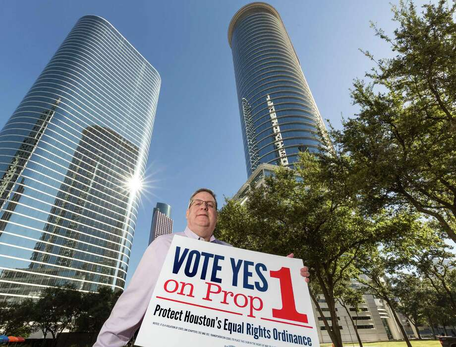 Mike Craig, a management consultant for Chevron Corp. and director of Out & Equal Houston, an advocacy group for LGBT workers, supported Houston's Equal Rights Ordinance in October. Photo: Craig Hartley, Freelance / Copyright: Craig H. Hartley