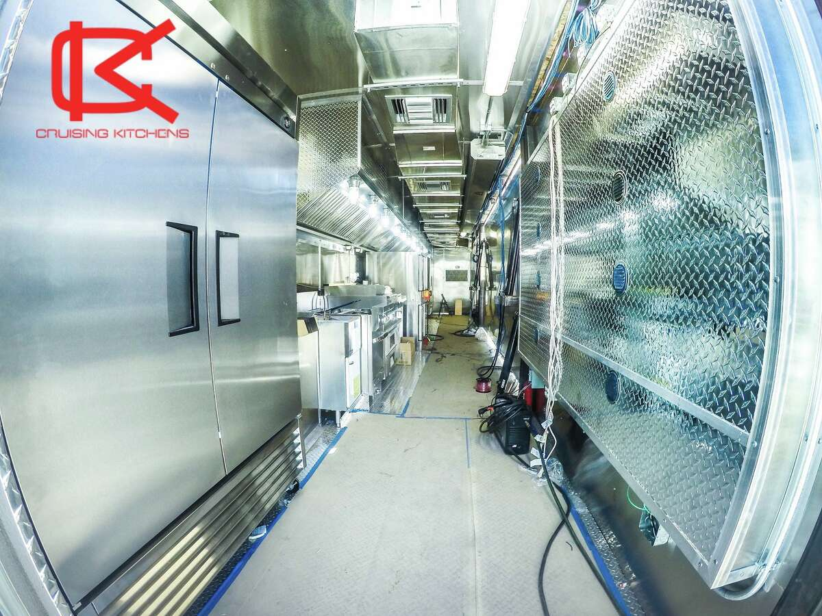 Cruising Kitchens built this mobile cuisine, called T.R.U.C.K., for the Florida-based Culinary Performance Media. It is the largest mobile cuisine in the world, according to Haley Rose Alvarez, the multimedia marketing manager for Cruising Kitchens.