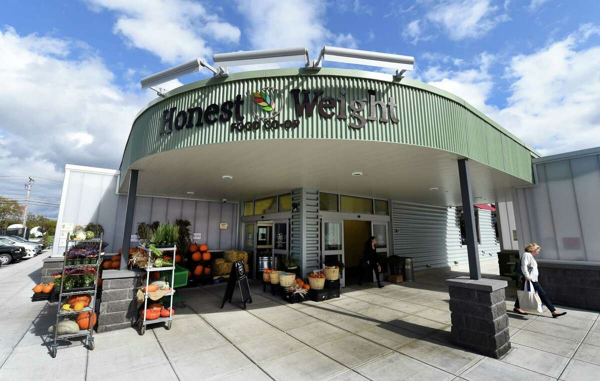 Exterior view of the Honest Weight Co-op Friday afternoon Oct. 16, 2015 in Albany, N.Y. (Skip Dickstein/Times Union)