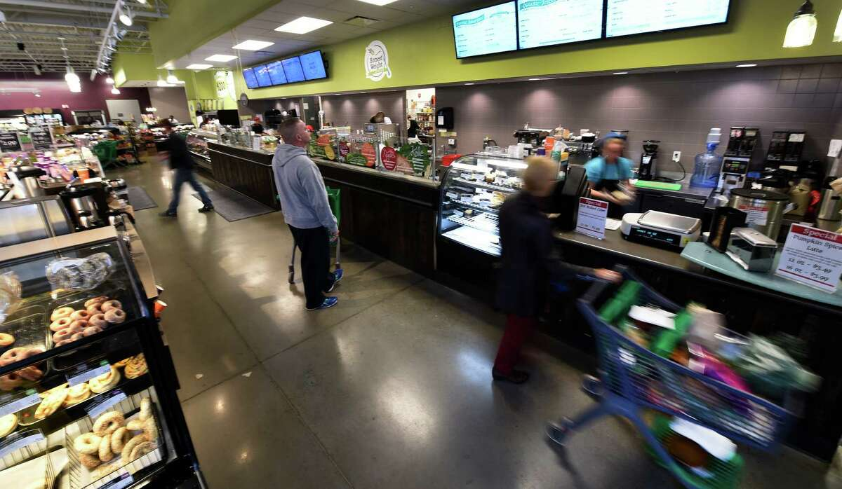 The prepared food area of the Honest Weight Co-op Friday afternoon Oct. 16, 2015 in Albany, N.Y. (Skip Dickstein/Times Union)
