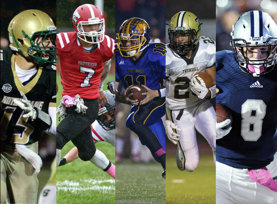 ND-West Haven (3), Masuk (1),  Brookfield (3), Trumbull (4), Staples (5)