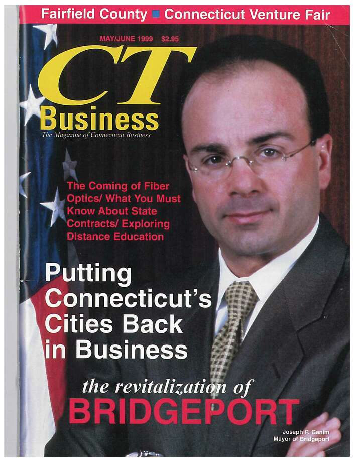 Mayor Joseph P. Ganim on the cover of CT Business magazine, May/June 1999. Photo: Contributed Photo / Connecticut Post Contributed