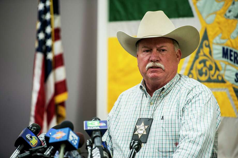 FILE - Merced Co. Sheriff Vern Warnke speaks during a news conference at the Merced County Sheriff's Department in Merced, Calif. in this November 2015 file photo. He said that a missing Modesto woman, who survived for days by eating bugs and drinking from a dirty cattle trough, did not want to be found. Photo: Andrew Kuhn, MBO / The Merced Sun-Star