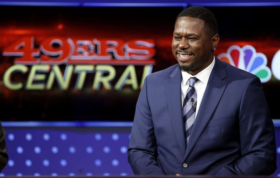 Former 49ers running back Ricky Watters laughs during a CSN broadcast in San Francisco, California, on Wednesday, Nov. 4, 2015. Photo: Connor Radnovich, The Chronicle