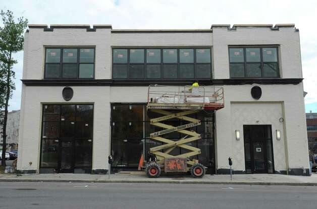 The Lofts apartments under construction at 733 Broadway on Thursday Nov. 5, 2015 in Albany, N.Y.  (Michael P. Farrell/Times Union) Photo: Michael P. Farrell / 00034107A
