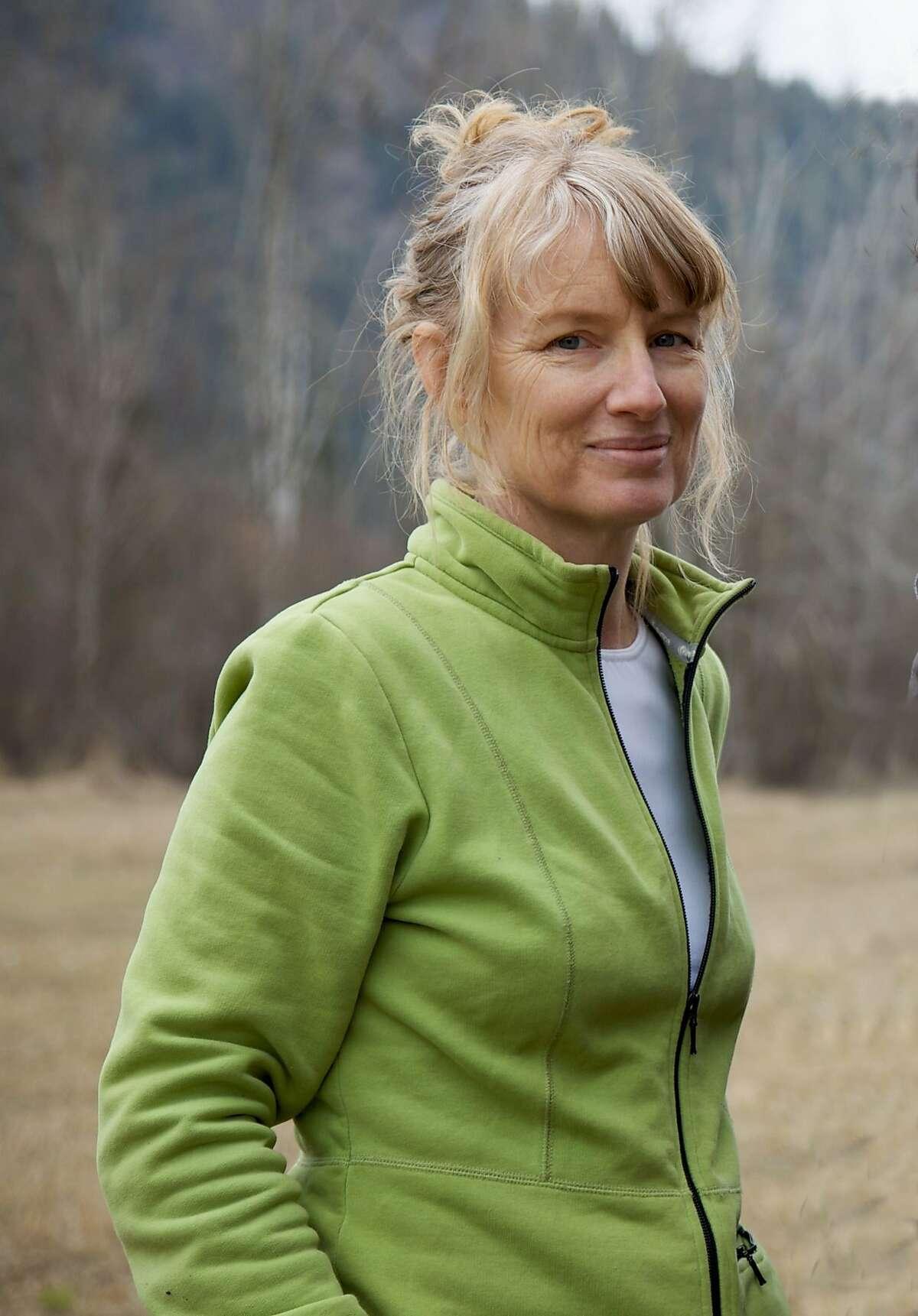 Canadian sound artist Janet Cardiff, whose audio installation