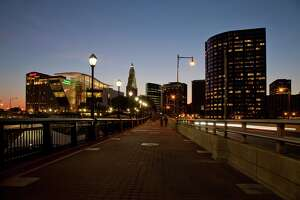 13. Hartford, Connecticut GMP per resident: $64,946  Hartford may only be the fourth-largest city in Connecticut, but it's also a major hub for the insurance industry, keeping its metro area economy healthy.