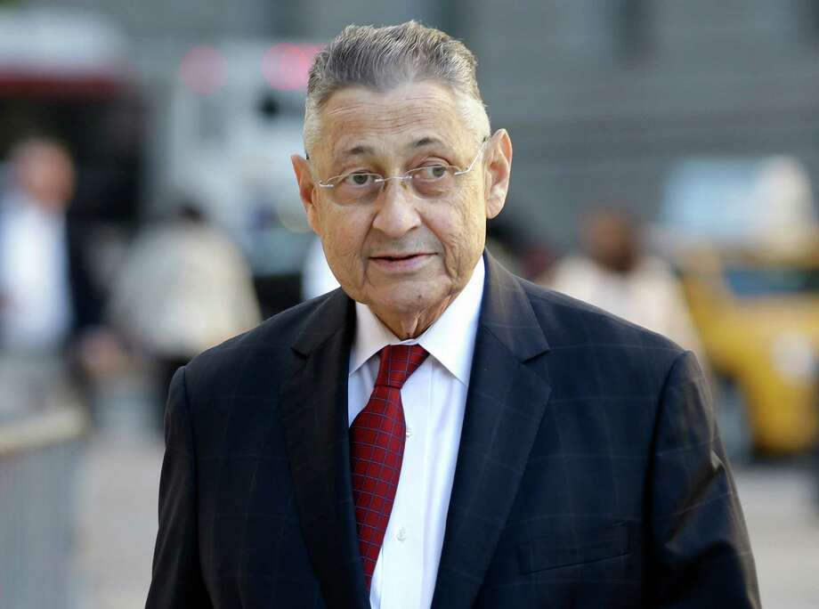 Former Assembly Speaker Sheldon Silver arrives to the courthouse for his corruption trial in New York, Tuesday, Nov. 3, 2015.  The 71-year-old Manhattan Democrat was arrested in January on charges he took nearly $4 million in kickbacks.  (AP Photo/Seth Wenig) ORG XMIT: NYSW102 Photo: Seth Wenig / AP