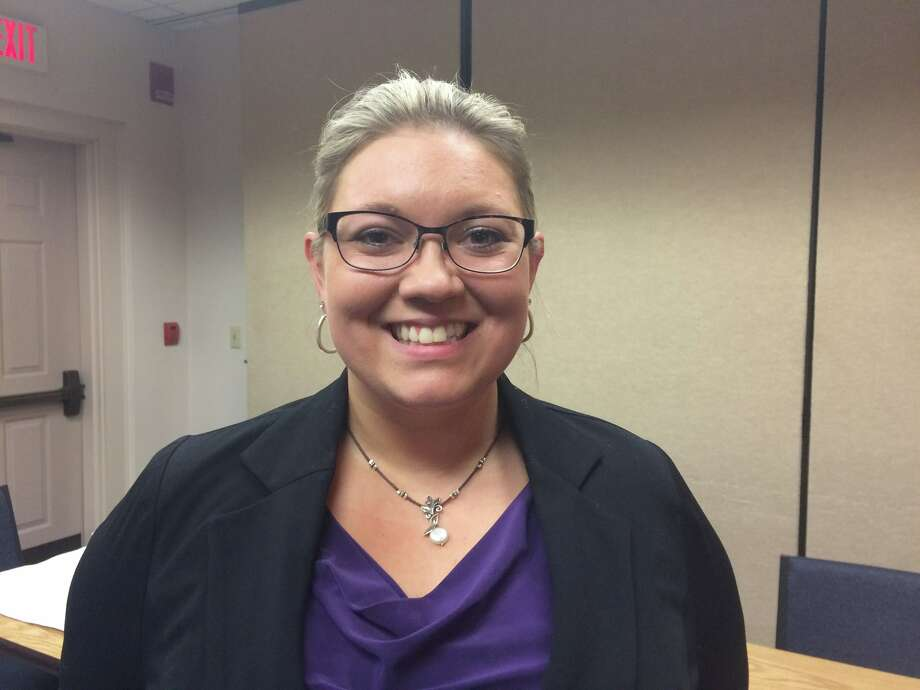 Sydney Worobel was elected as Roxbury's third representative on the Region 12 Board of Education at a Special Town Meeting Wednesday. She fills a 4-year term vacancy. Photo: / Contributed Photo