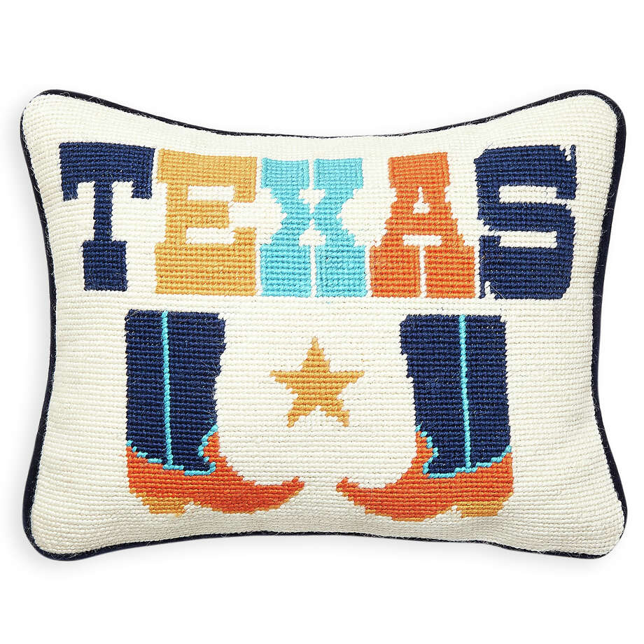 Throw Pillows Uncovered : Change the state of your home with Texas-themed decor - Houston Chronicle