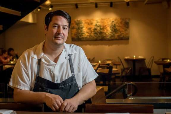 Chef Jason Fox of Oro in San Francisco, Calif. is seen on Thursday, November 5th, 2015.