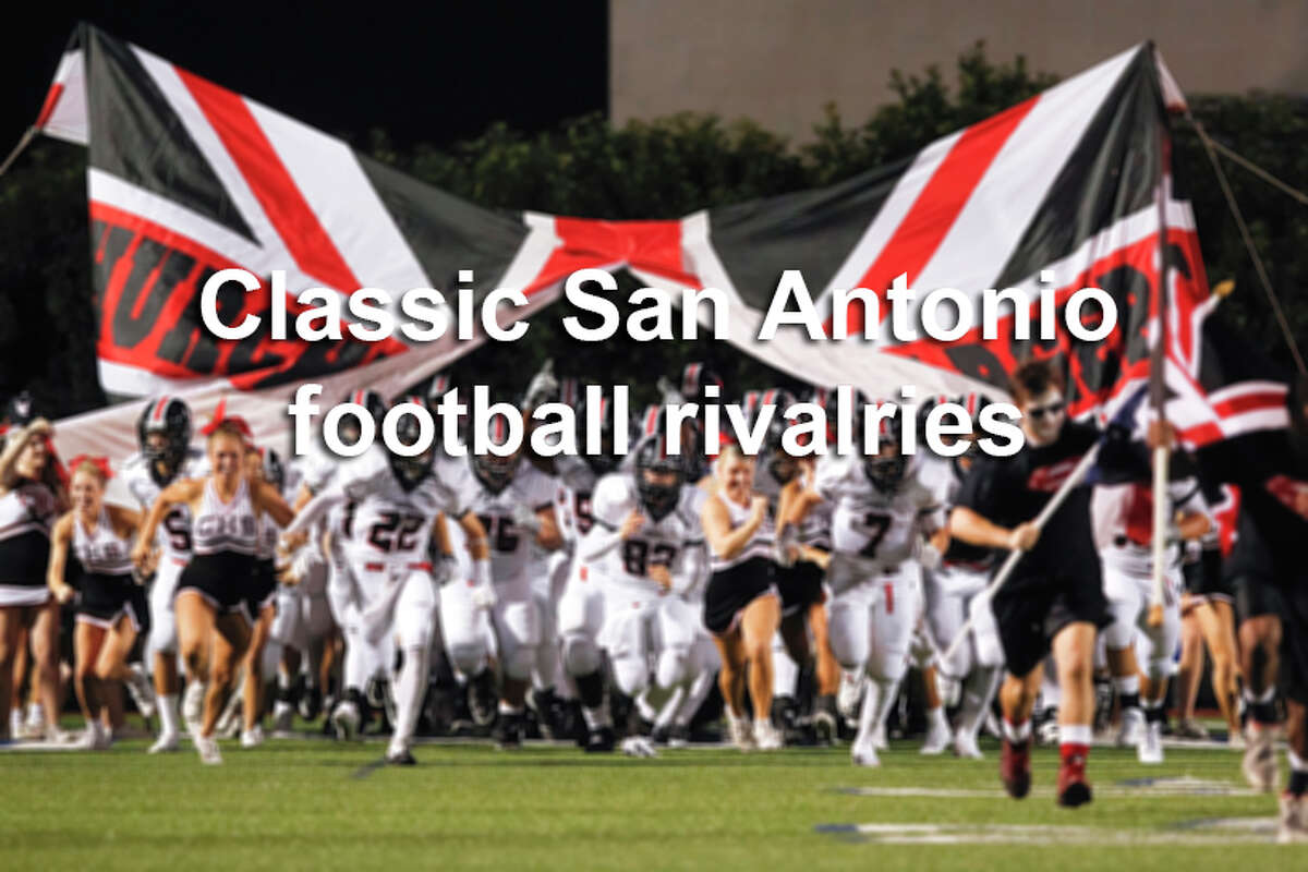 Click ahead for a rundown of some of the fiercest rivalry games in San Antonio high school football.