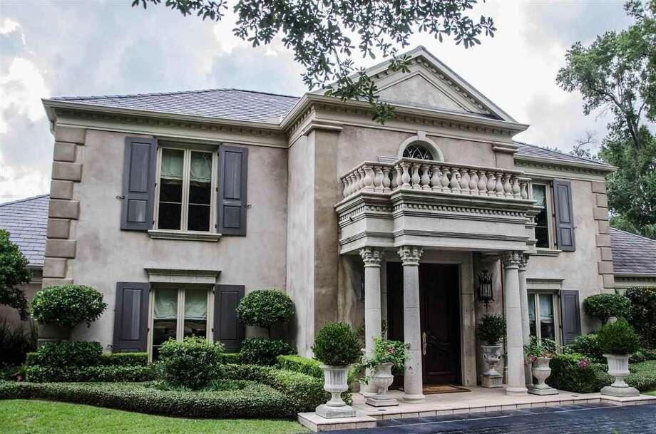 1370 Audubon Place, Beaumont, TX 77706.$1,625,000. 3 bedroom, 3 full, 2 half bath. 7,329 sq. ft. Photo: Realtor.com