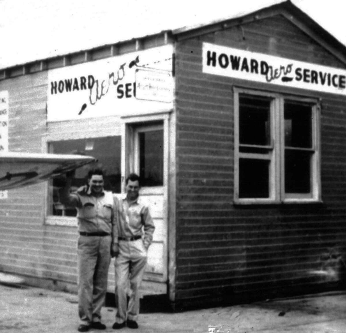 The first building for Howard Aero Service.