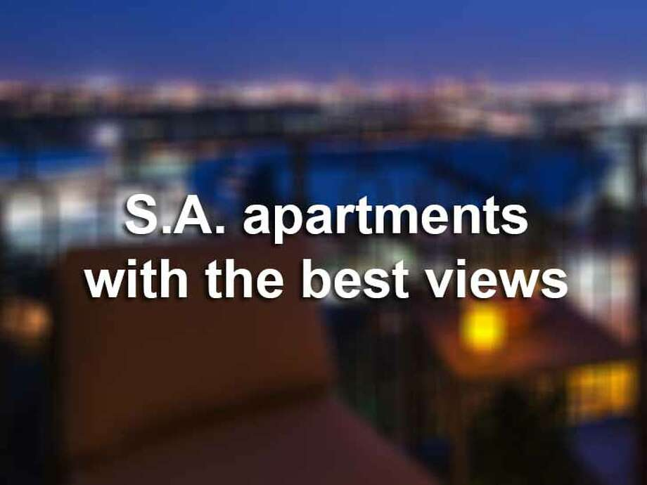 San Antonio's busting downtown is smack dab in the middle of the rolling Hill Country, meaning great views are at every turn. Here are 10 apartments with great views in San Antonio. Photo: File