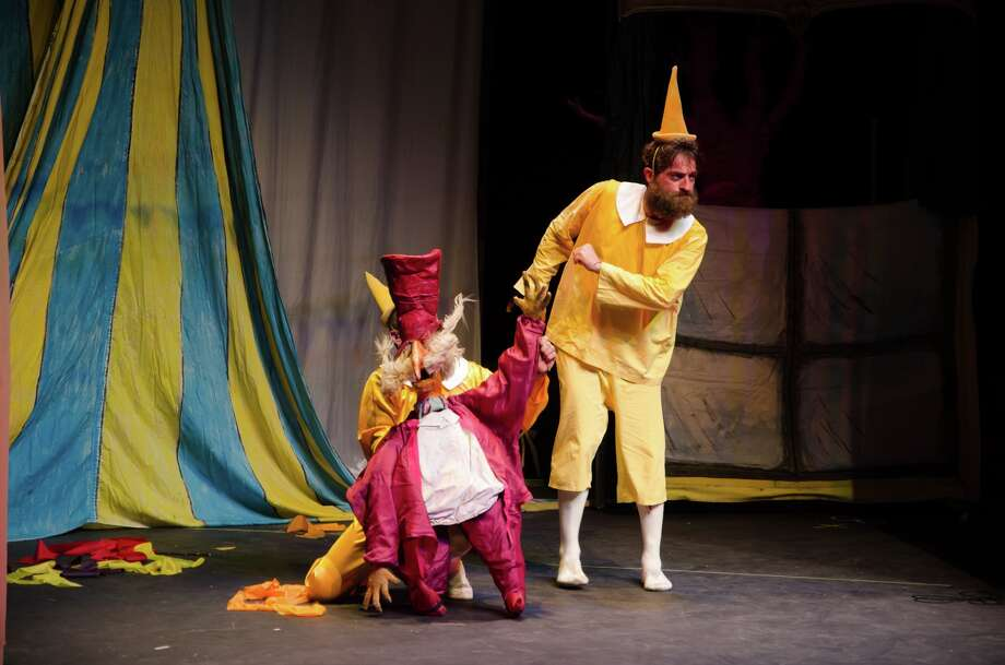 """Teatro del Drago's take on """"Pinocchio"""" includes no spoken dialogue. Instead, the story is told through puppets, movement, music and traditional theater techniques. Photo: Photos Courtesy Siggi Ragnar / sRagnar Fotografi"""