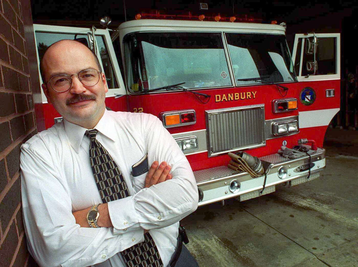 Former Danbury firefighter Reynoldo Rodriguez has filed a lawsuit against the city.