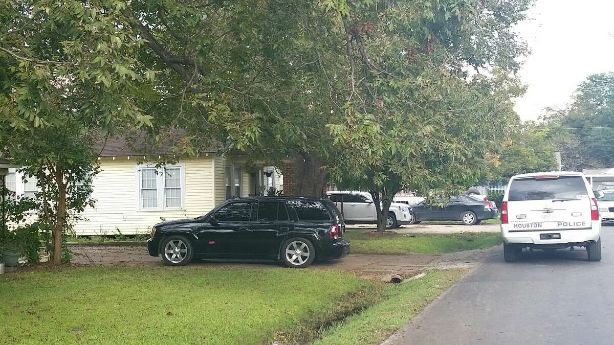 Veronica Mercado and her 2-year-old child were both found dead inside a home in the 7800 block of Elvera, southwest of Broadway and Lawndale, according to Houston police. (Henry Sturm   Houston Chronicle)