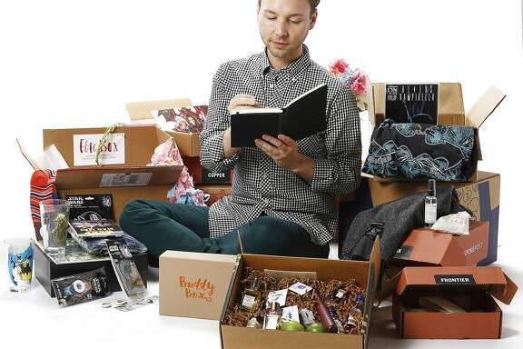 San Francisco Chronicle writer Tony Bravo seen on Friday, Nov. 6, 2015 in San Francisco, Calif., writes about his experience with subscription boxes.