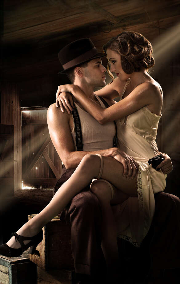 """""""Bonnie and Clyde: The Musical"""" is coming to Stamford. Pictured here are the show's former Broadway stars, Jeremy Jordan and Laura Osnes. Photo: Contributed Photo / Contributed Photo / Connecticut Post Contributed"""