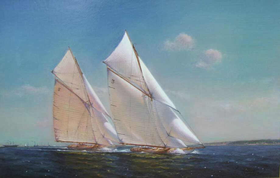 Artist Peter Arguimbau has a âÄòNew WorksâÄô Show coming up Thursday at 171 Field Point Road. The Exhibit features paintings of dramatic effects of sea and land, harbors, ships and yachts, portraits and more.  Arguimbau started painting at 8, grinding powdered pigments for his father, a portrait painter. The show will be available from 1 to 4 p.m. Nov. 14 and 15 or by appointment through Nov. 25. For information or to view the work, call: 203-274-6176. Photo: Picasa / Contributed Photo / Greenwich Time Contributed