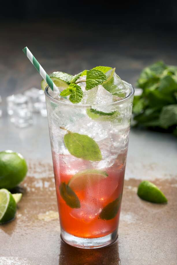 Ruby Red Mojito as served at Dave & Buster's. Photo: Courtesy Photo