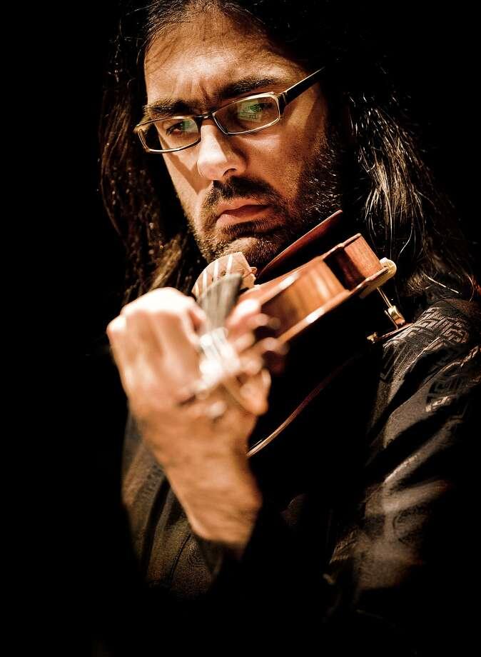 Leonidas Kavakos played the Sibelius Violin Concerto. Photo: Marco Borggreve