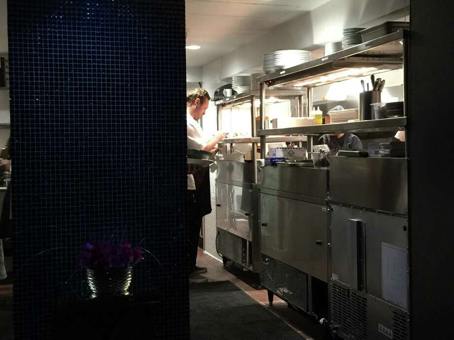 Inside the kitchen of Rebelle, the new restaurant at the St. Anthony Hotel. Photo: By Emily Spicer, San Antonio Express-News