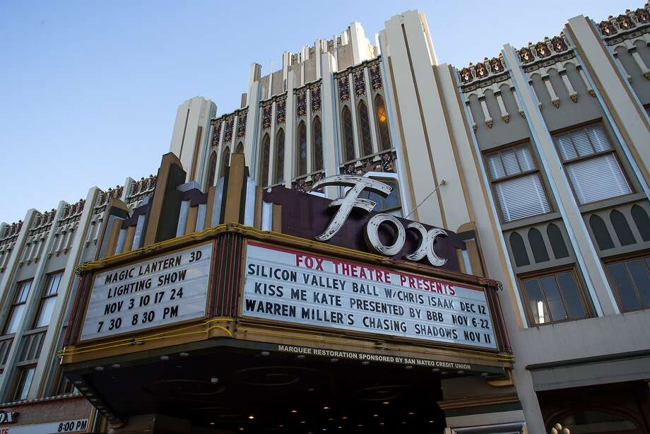 The Fox Theater is seen on Friday, Nov. 6, 2015 in Redwood City, Calif. Photo: Nathaniel Y. Downes, The Chronicle