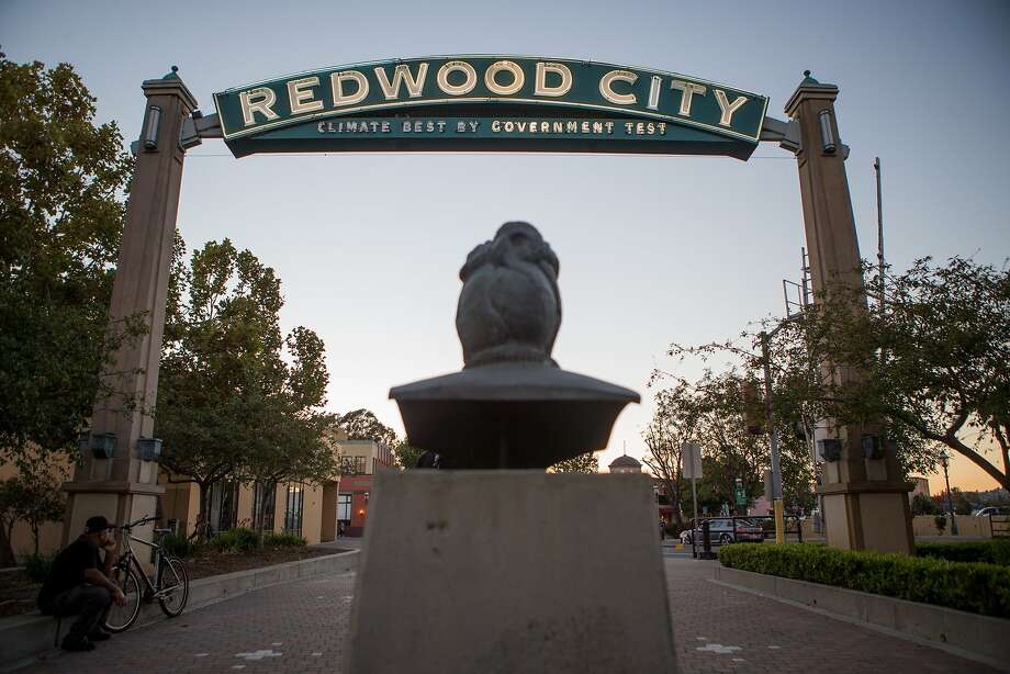 The Redwood City Arch is seen on Friday, Nov. 6, 2015 in Redwood City, Calif. Photo: Nathaniel Y. Downes, The Chronicle