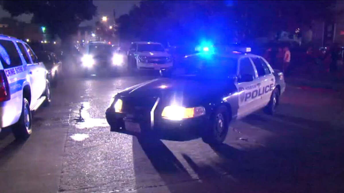 A suspect is on the run after fatally shooting one man at a West Houston apartment complex Friday night.