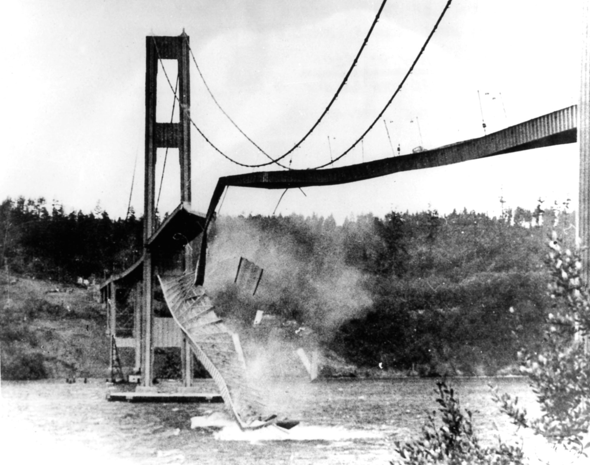a research on the responsibilities of an engineer and the collapse of the tacoma narrows bridge Pt 2: construction 1938-1940 the following images and text detail the construction of tacoma narrows bridge links to further pages on the introduction, opening, collapse, aftermath, and reconstruction are available at the bottom of the page.