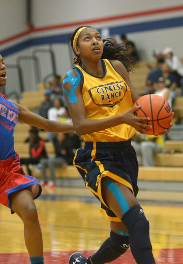 No. 18 overall in the country according to ESPN's HoopGurlz, DiDi Richards missed six weeks for Cypress Ranch because of a back strain. The healthy return of players like Richards makes a case for a strong run at the regional tournament. Photo: Jerry Baker, For The Houston Chronicle